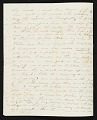View Thomas Doughty, Boston, Mass. letter to Asher Brown Durand, New York, N.Y. digital asset number 1