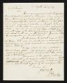 View William Dunlap, Norfolk, Va. letter to Asher Brown Durand, New York, N.Y. digital asset number 0