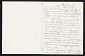 View Thomas Eakins, New York, N.Y. letter to Charles Henry Hart, New York, N.Y. digital asset number 0