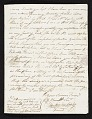 View John Singleton Copley letter to unidentified recipient, Florence, Italy digital asset number 2