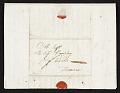 View John Singleton Copley letter to unidentified recipient, Florence, Italy digital asset number 3