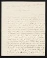 View G. (George) Cooke, Raleigh, N.C. letter to John Trumbull, New York, N.Y. digital asset number 0