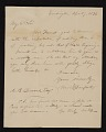 View William Danforth, Kensington, England letter to Asher Brown Durand, New York, N.Y. digital asset number 0