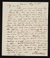View Jacob Eichholtz, Lancaster, Pa. letter to Robert Lindsay, Philadelphia, Pa. digital asset number 0