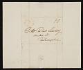 View Jacob Eichholtz, Lancaster, Pa. letter to Robert Lindsay, Philadelphia, Pa. digital asset number 2