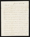 View Charles Fraser, Charleston, S.C. letter to unidentified recipient digital asset number 0
