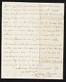 View Charles Fraser, Charleston, S.C. letter to unidentified recipient digital asset number 1