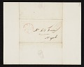 View Chester Harding, Baltimore, Md. letter to Asher Brown Durand, New York, N.Y. digital asset number 1