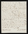 View Joel Tanner Hart, Florence, Italy letter to Joshua Humphreys, Paris, France digital asset number 2