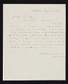 View James McDougal Hart, Albany, N.Y. letter to John Durand, New York, N.Y. digital asset number 0