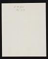 View James McDougal Hart, Albany, N.Y. letter to John Durand, New York, N.Y. digital asset: verso