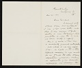 View Thomas Hovenden, Plymouth Meeting, Pa. letter to Charles Henry Hart digital asset number 0