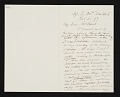 View Daniel Huntington, New York, N.Y. letter to Charles Henry Hart, Rosewood, Pa. digital asset number 0