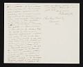 View Daniel Huntington, New York, N.Y. letter to Charles Henry Hart, Rosewood, Pa. digital asset number 1