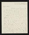 View Matthew Harris Jouett letter to Mr. Hart, New Orleans, La. digital asset number 0