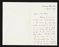 View Frederick W. Kost, Roshanak, R.I. letter to Thomas B. (Thomas Benedict) Clarke, New York, N.Y. digital asset number 0