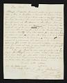 View John Lewis Krimmel letter to Thomas Birch, Philadelphia, Pa. digital asset number 0