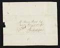 View John Lewis Krimmel letter to Thomas Birch, Philadelphia, Pa. digital asset number 1