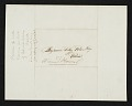 View Thomas Bayley Lawson, Paris, France letter to Benjamin Poore, Lowell, Mass. digital asset number 1