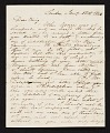 View Charles R. Leslie, London, England letter to Charles Bird King, Baltimore, Md. digital asset number 0