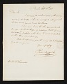 View Peter Maverick, Newark, N.J. letter to William Woodward, Philadelphia, Pa. digital asset number 0