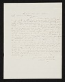 View Jervis McEntee, Rondout, N.Y. letter to Asher Brown Durand digital asset number 0