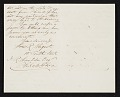 View L. R. (Louis Remy) Mignot, New York, N.Y. letter to James Reid Lambdin, Philadelphia, Pa. digital asset number 1