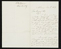 View Erastus Dow Palmer, Albany, N.Y. letter to Asher Brown Durand digital asset number 0