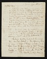 View Raphaelle Peale, Philadelphia, Pa. letter to Charles Willson Peale, New York, N.Y. digital asset number 0