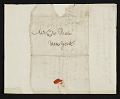 View Raphaelle Peale, Philadelphia, Pa. letter to Charles Willson Peale, New York, N.Y. digital asset number 3