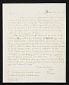 View Rembrandt Peale, Philadelphia, Pa. letter to C. Edwards (Charles Edwards) Lester, New York, N.Y. digital asset number 0