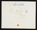 View Rembrandt Peale, Philadelphia, Pa. letter to C. Edwards (Charles Edwards) Lester, New York, N.Y. digital asset number 2