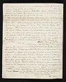 View Rubens Peale, New York, N.Y. letter to Charles F. (Charles Frederick) Mayer, Baltimore, Md. digital asset number 1