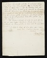 View Rubens Peale, New York, N.Y. letter to Charles F. (Charles Frederick) Mayer, Baltimore, Md. digital asset number 2