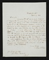 View Titian Ramsay Peale, Washington, D.C. letter to unidentified recipient, Bucks County, Pa. digital asset number 0