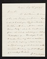 View Henry Sargent, Boston, Mass. letter to John Trumbull, New York, N.Y. digital asset number 0