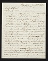 View Joshua Shaw, Philadelphia, Pa. letter to Asher Brown Durand, New York, N.Y. digital asset number 0