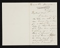 View W. T. (William Thomas) Smedley, Bronxville, N.Y. letter to Charles Henry Hart, New York, N.Y. digital asset number 0