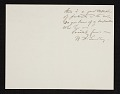 View W. T. (William Thomas) Smedley, Bronxville, N.Y. letter to Charles Henry Hart, New York, N.Y. digital asset number 1