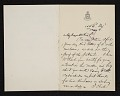 View Francis Hopkinson Smith, New York, N.Y. letter to Charles Henry Hart digital asset number 0