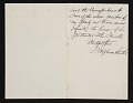 View Francis Hopkinson Smith, New York, N.Y. letter to Charles Henry Hart digital asset number 1