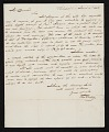 View Thomas Sully, Philadelphia, Pa. letter to Asher Brown Durand, New York, N.Y. digital asset number 0