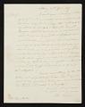 View Elkanah Tisdale, Albany, N.Y. letter to John Trumbull, New York, N.Y. digital asset number 0