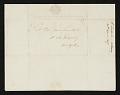 View Elkanah Tisdale, Albany, N.Y. letter to John Trumbull, New York, N.Y. digital asset number 1