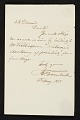 View John Trumbull letter to Asher Brown Durand digital asset number 0
