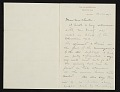 View Dwight William Tryon, New York, N.Y. letter to Thomas B. (Thomas Benedict) Clarke digital asset number 0