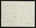 View Dwight William Tryon, New York, N.Y. letter to Thomas B. (Thomas Benedict) Clarke digital asset number 1