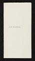 View John H. Twachtman list of works. digital asset number 0