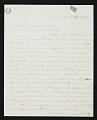 View Leonard Wells Volk, Chicago, Ill. letter to John Durand, New York, N.Y. digital asset number 0