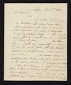 View Samuel Waldo, London, England letter to John Trumbull, New York, N.Y. digital asset number 0
